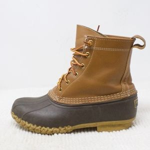 LL Bean Classic Duck 8 Inch Boots Size 8
